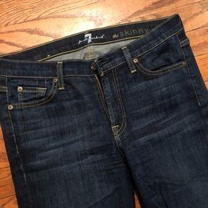 """7 for all Mankind """"The Skinny"""" size 29"""